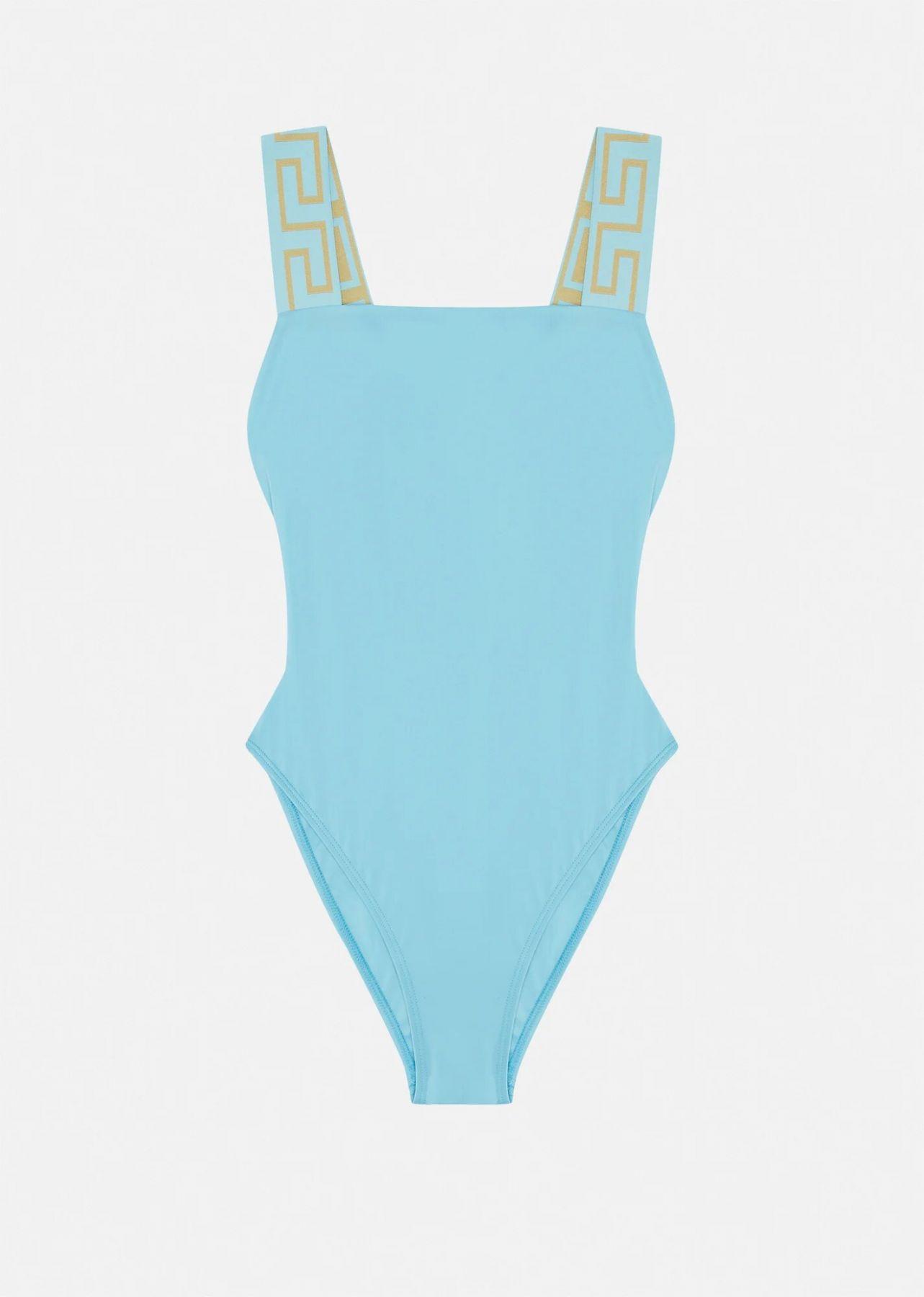 Купальник Versace голубой