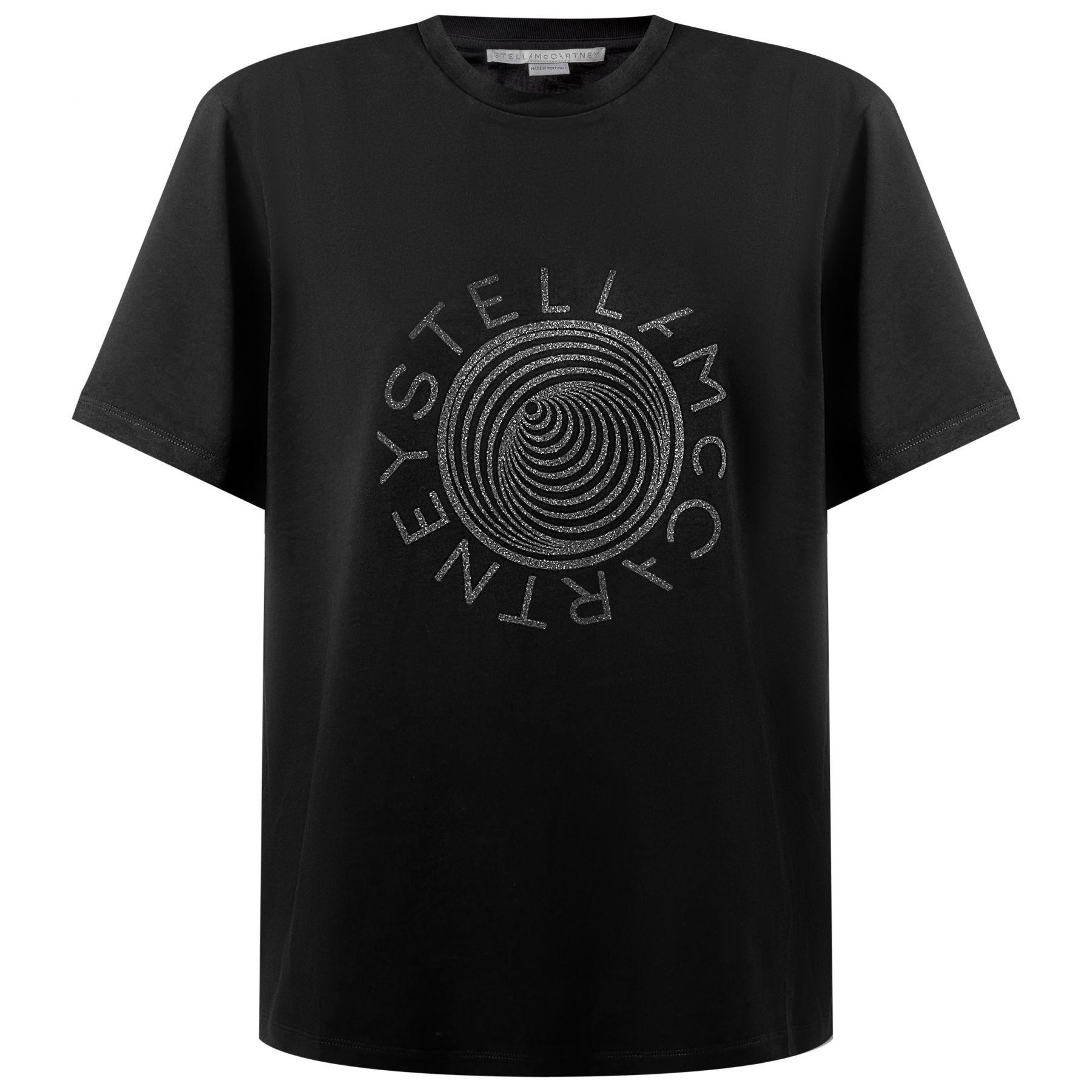 Футболка Stella McCartney черная