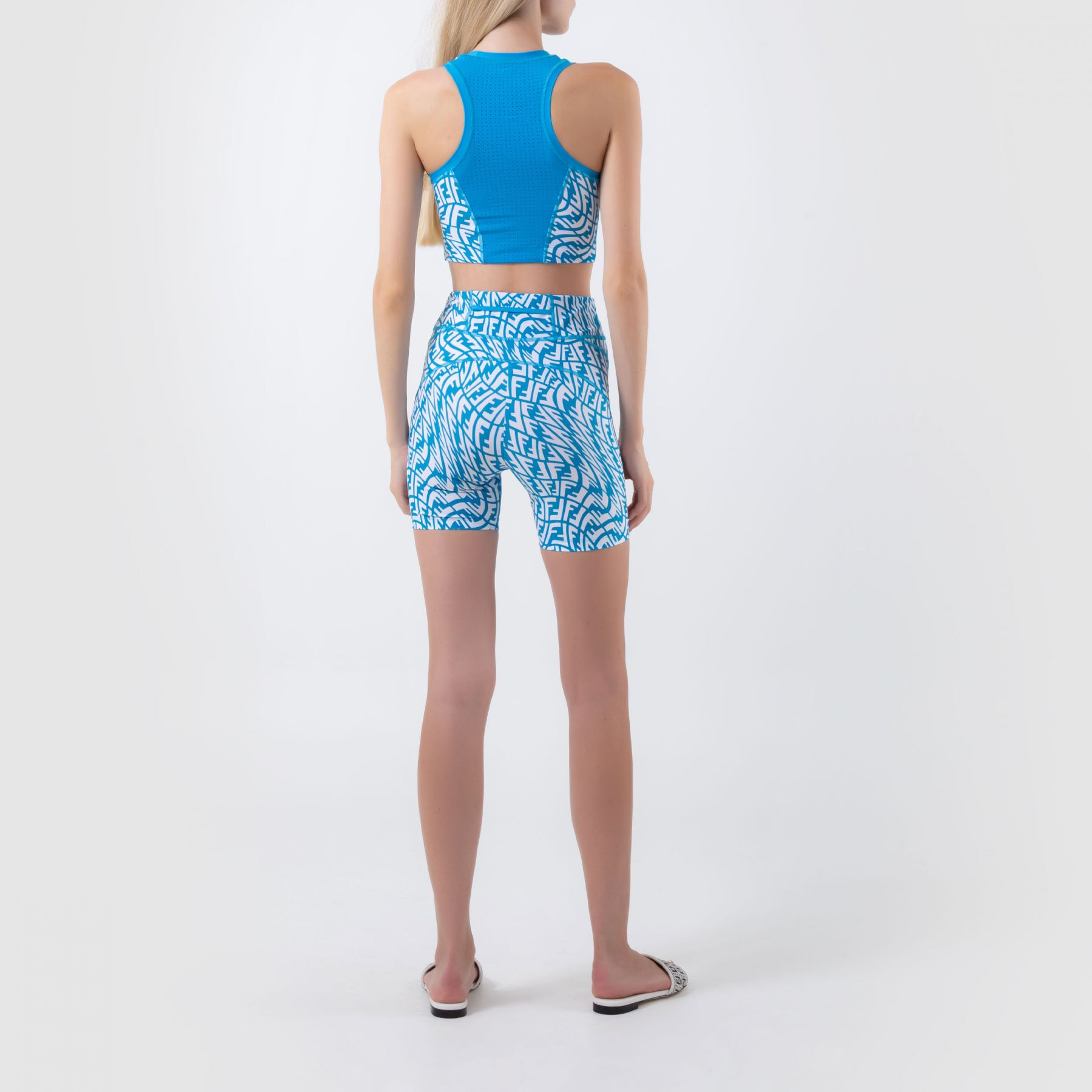 Спортивный костюм Fendi голубой