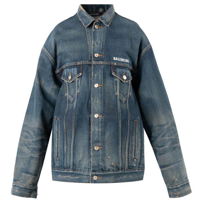 Куртка Balenciaga синяя