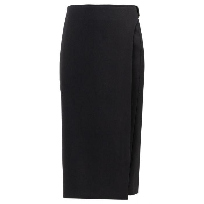 Юбка-карандаш Balenciaga черная