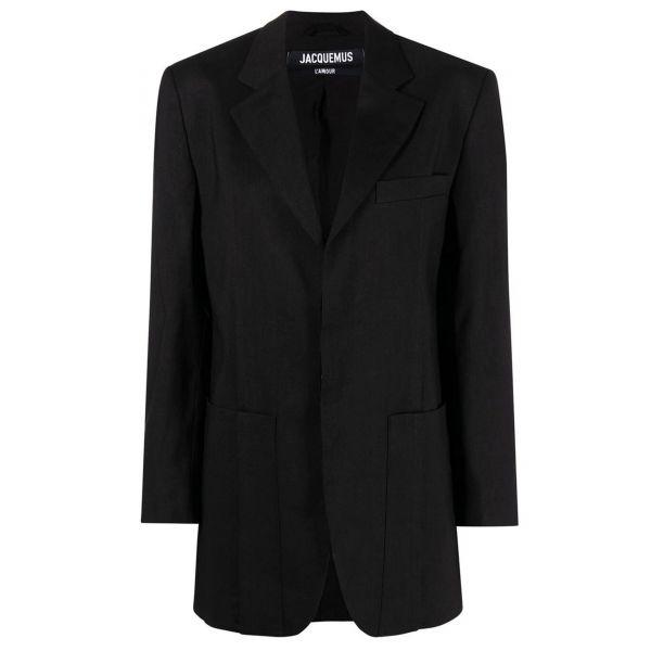 Пиджак Jacquemus черный