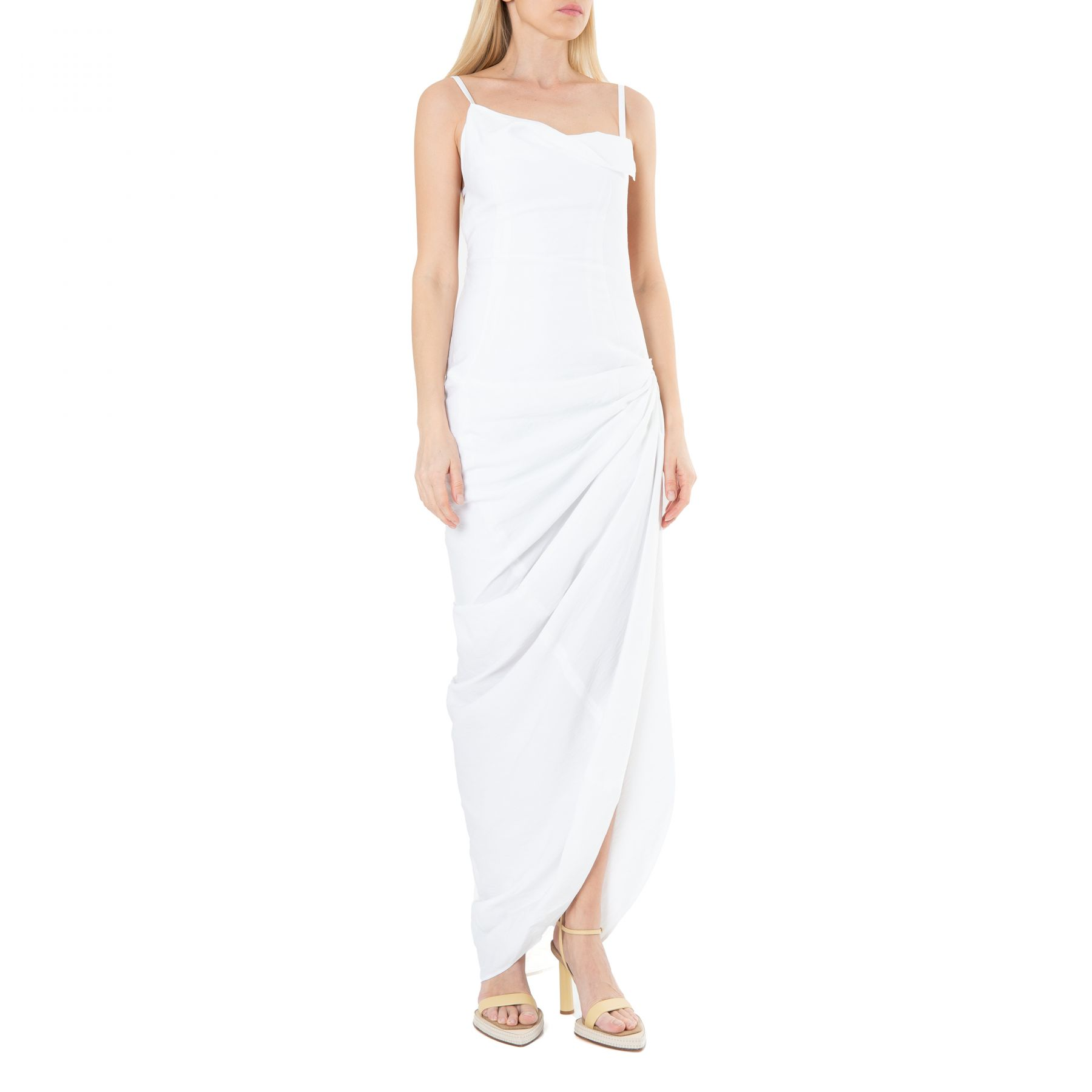 Сарафан Jacquemus La robe Saudade белый