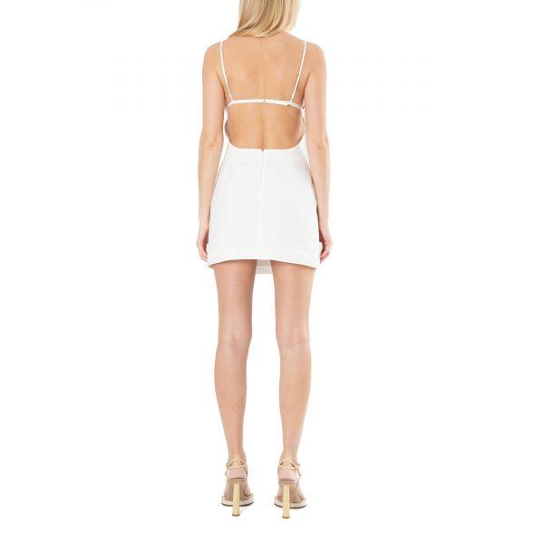 Платье Jacquemus La robe Drap белое