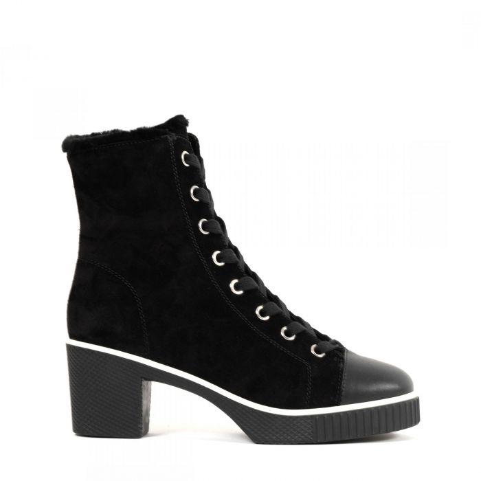 Ботинки на меху Giuseppe Zanotti черные