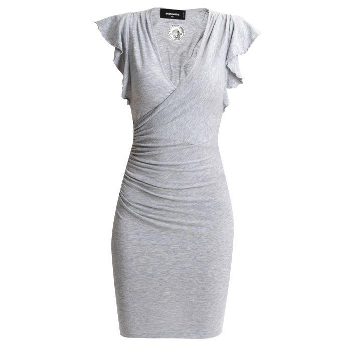 Платье DSQUARED2 серое