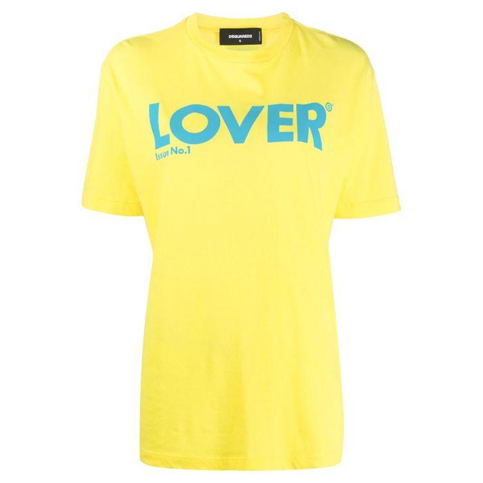 Футболка DSQUARED2 желтая