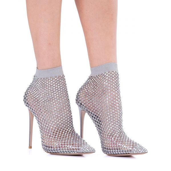 Туфли Le Silla GILDA серебряные