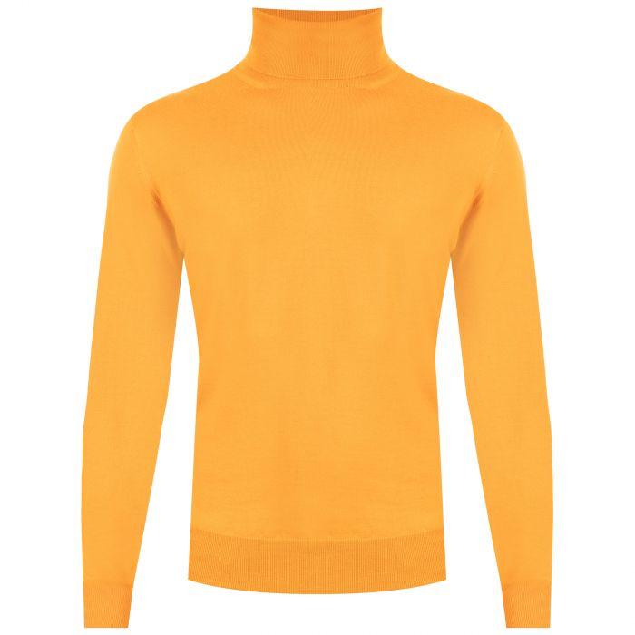 Гольф Cruciani оранжевый