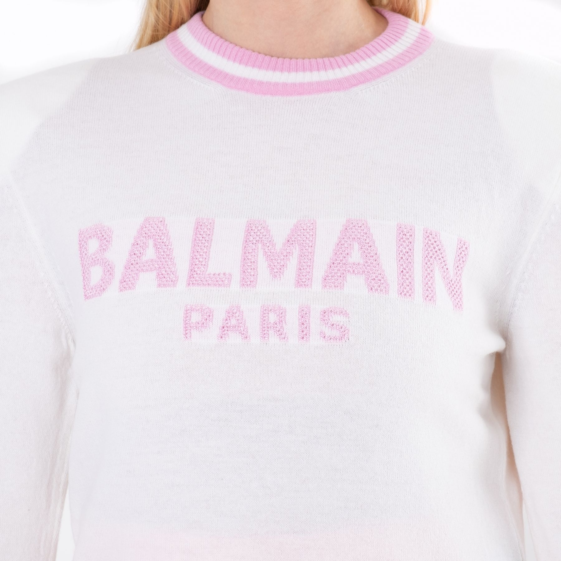Джемпер Balmain белый