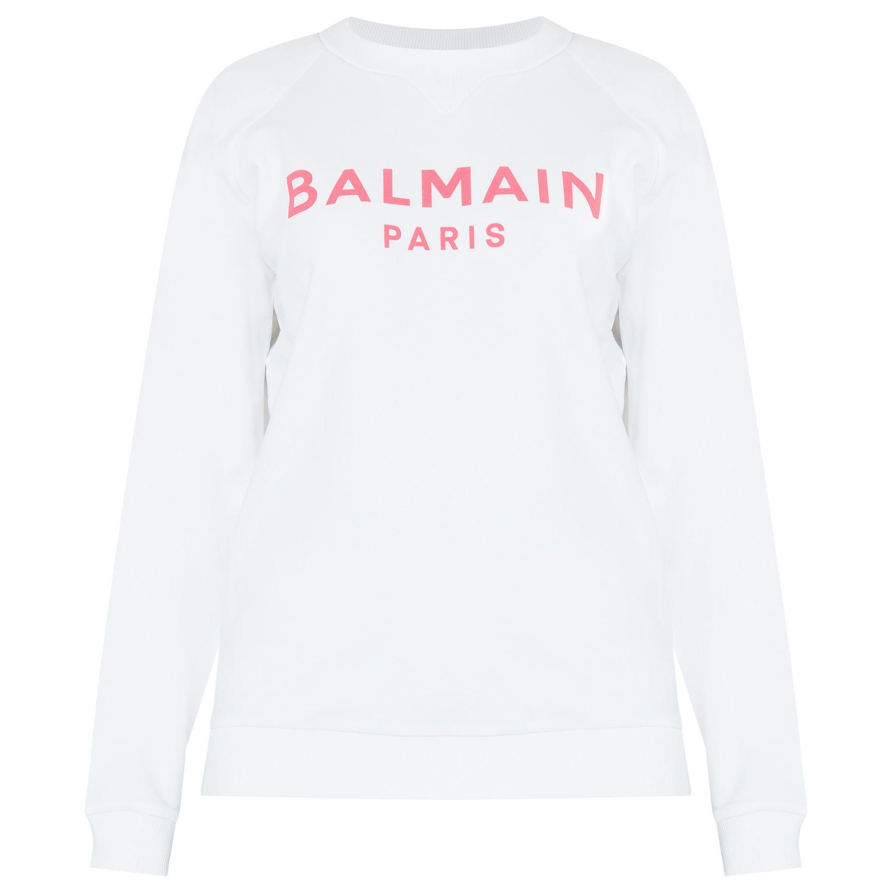 Свитшот Balmain белый
