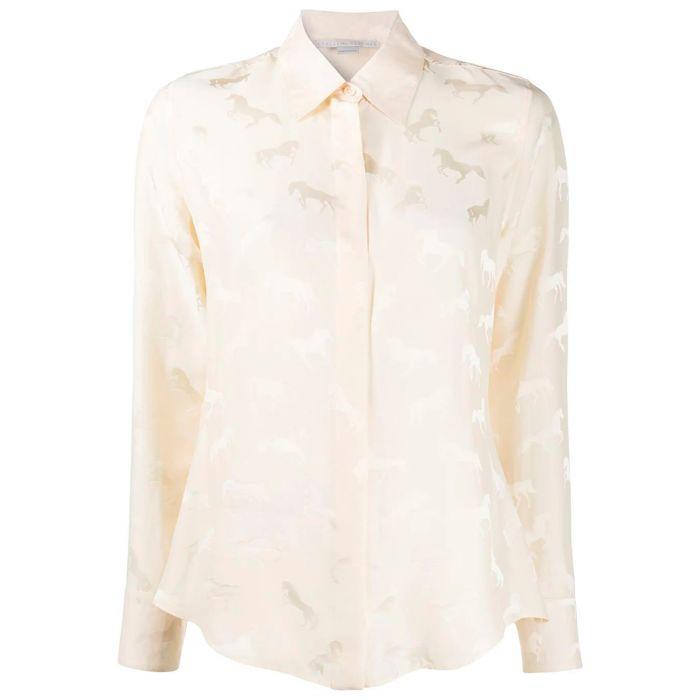 Рубашка длин.рук. Stella McCartney пудровая