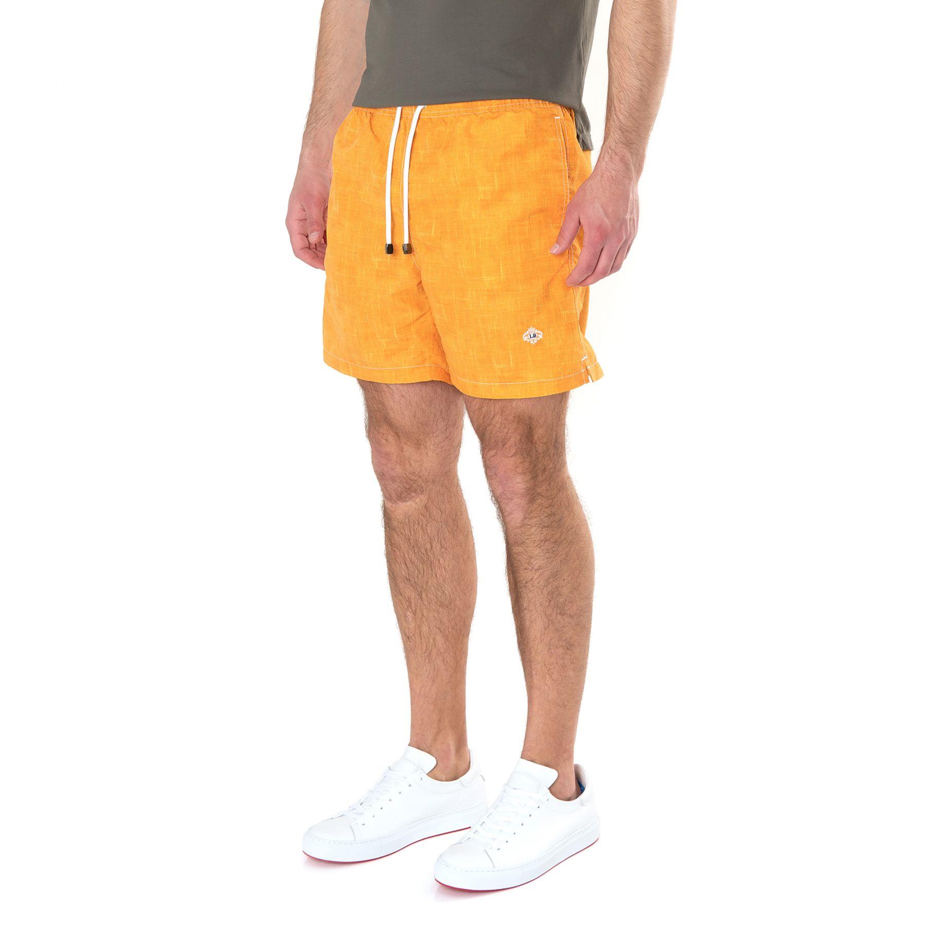 Шорты для плавания Luigi Borrelli оранжевые