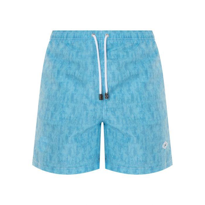 Шорты для плавания Luigi Borrelli голубые