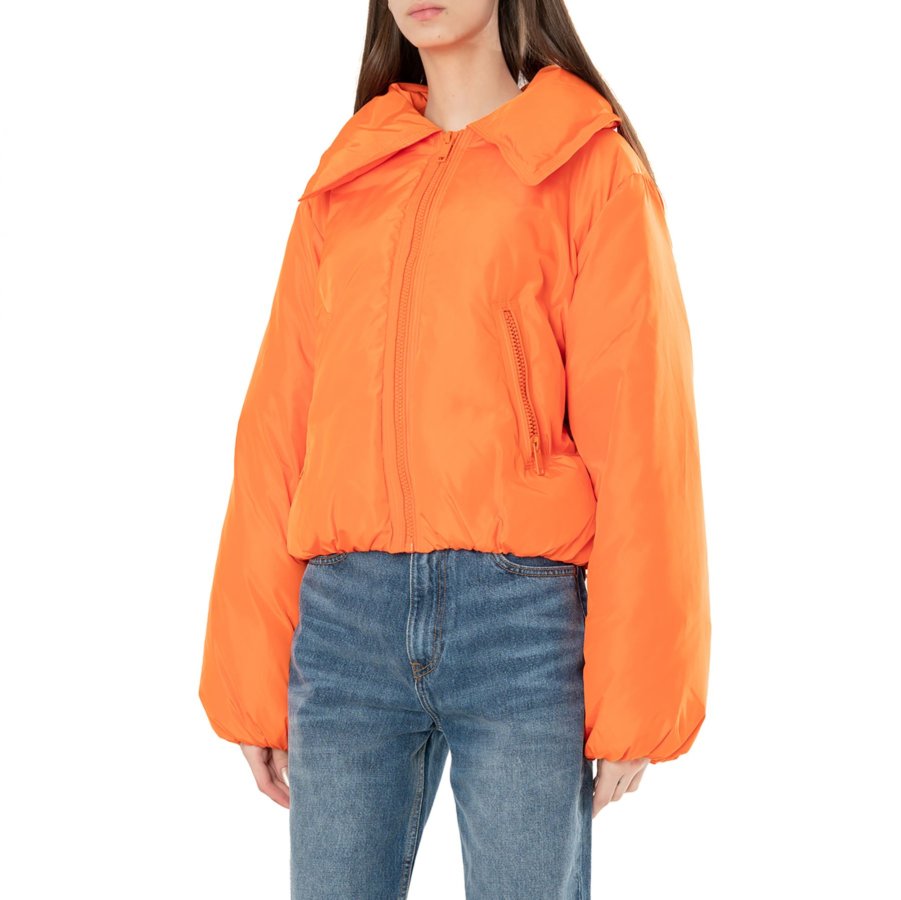 Куртка Ganni TECH оранжевая