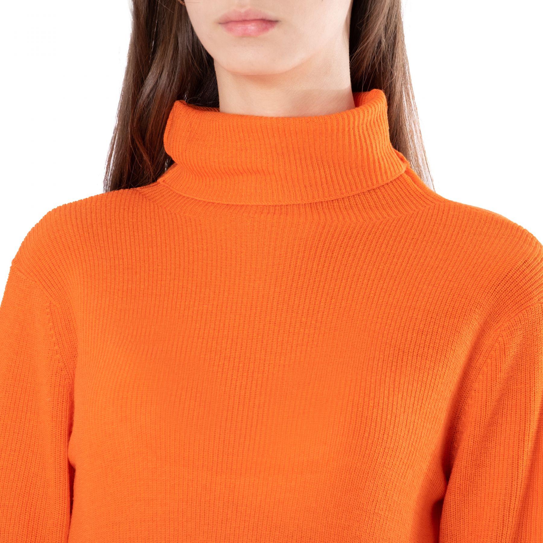 Гольф Ganni оранжевый