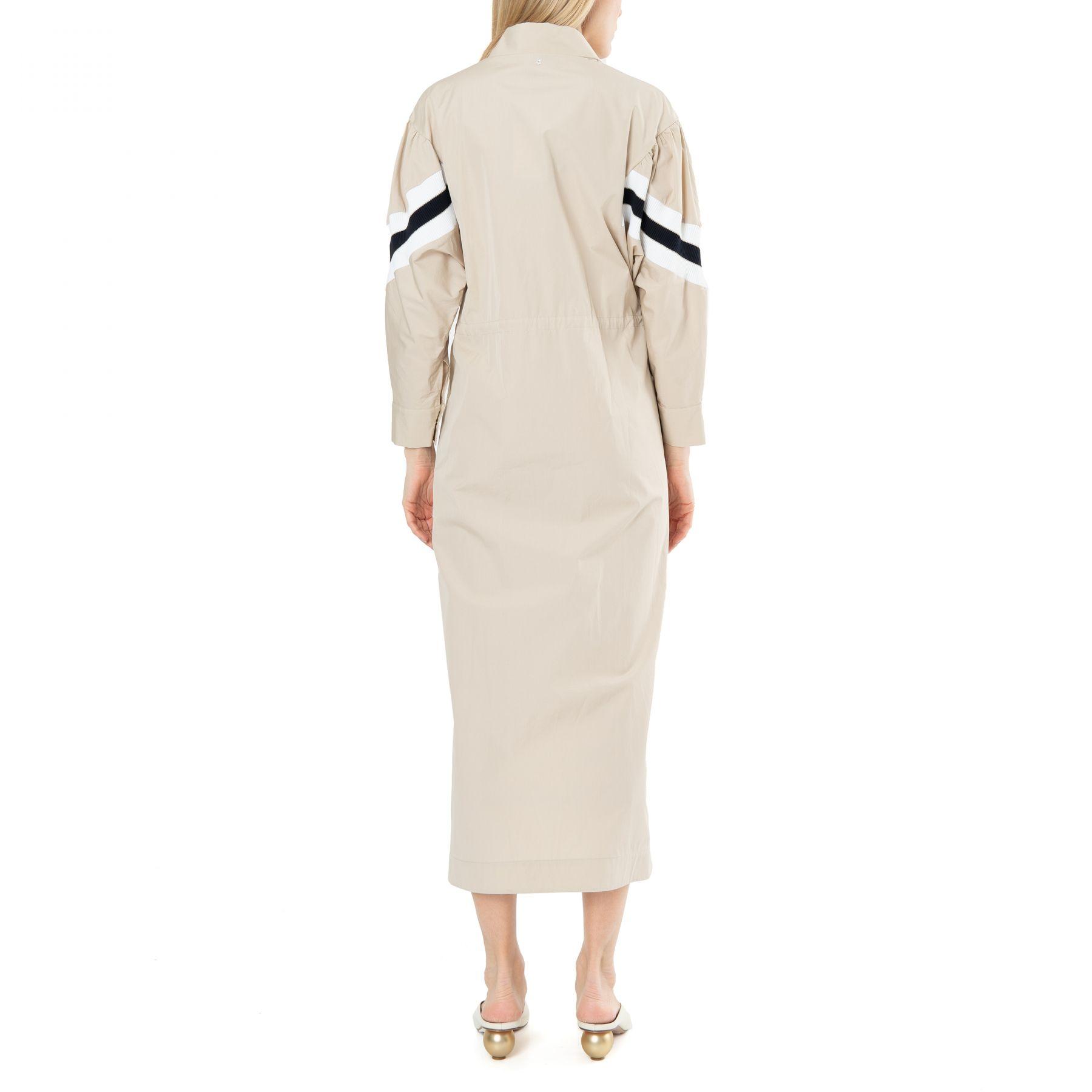 Платье длинное Lorena Antoniazzi бежевое
