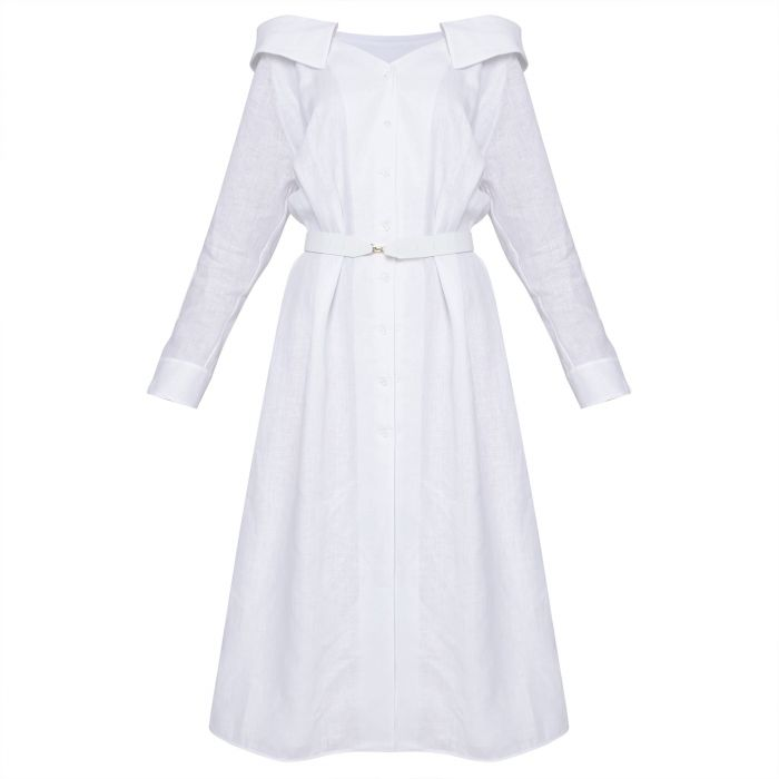Платье Fendi белое