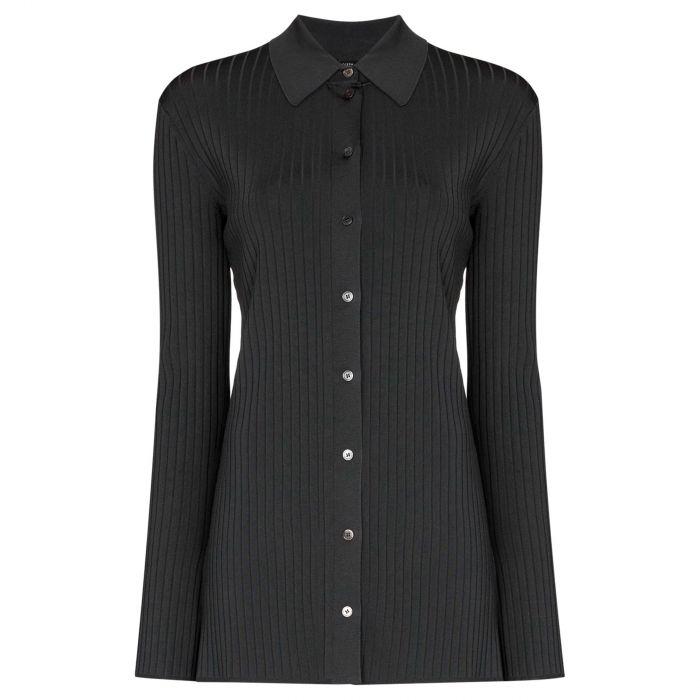 Рубашка с длинными рукавами Joseph темно-серая