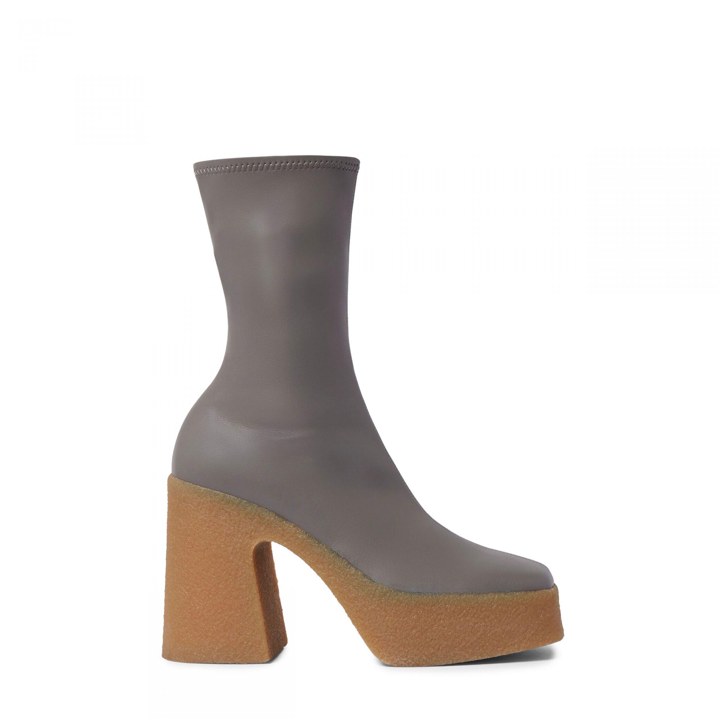 Ботинки Stella McCartney Chunky серые
