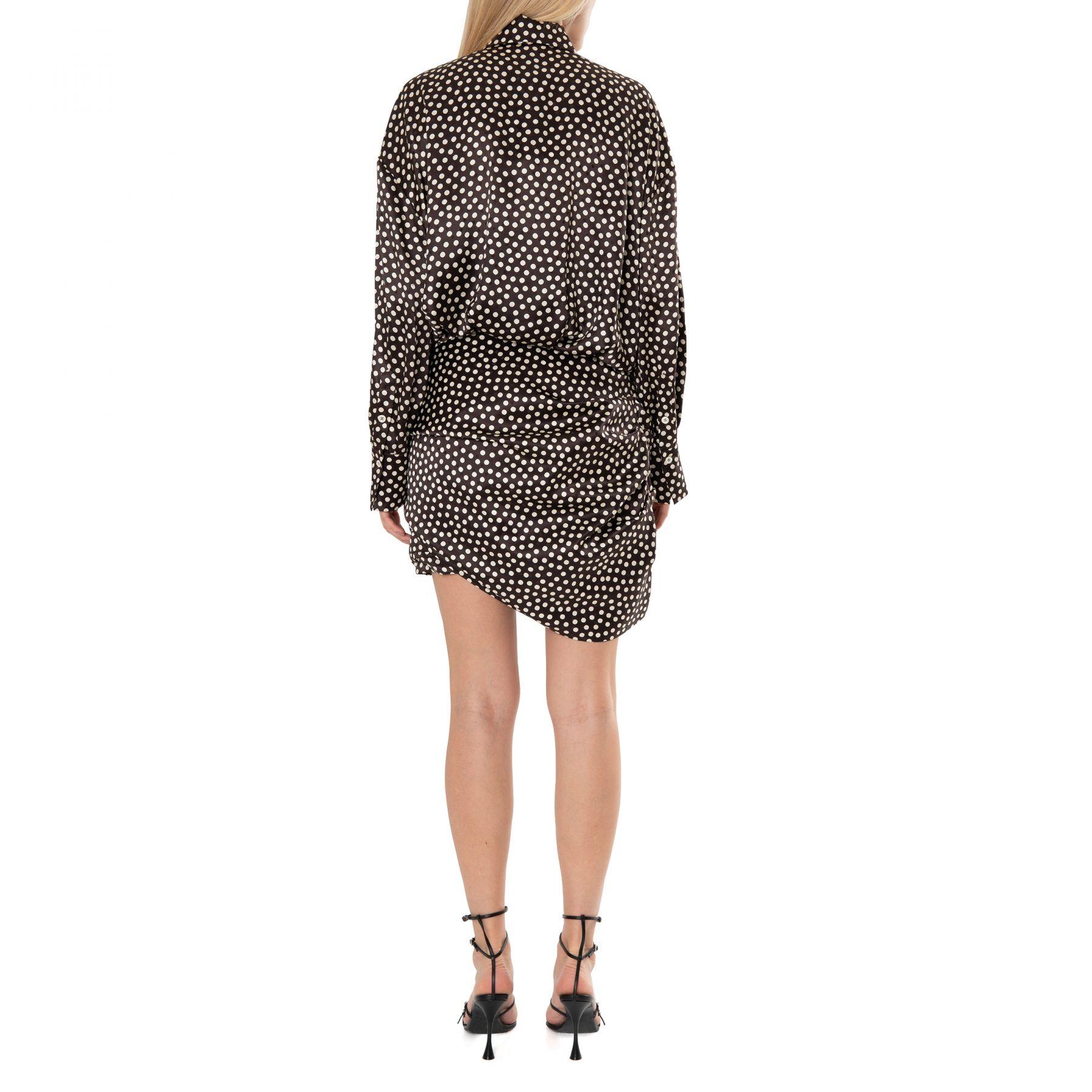 Платье Magda Butrym коричневое
