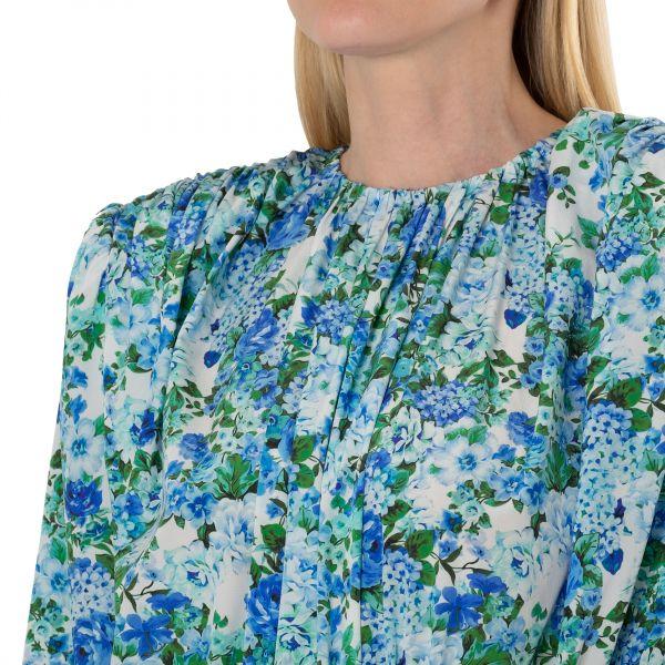 Платье длинное Magda Butrym голубое