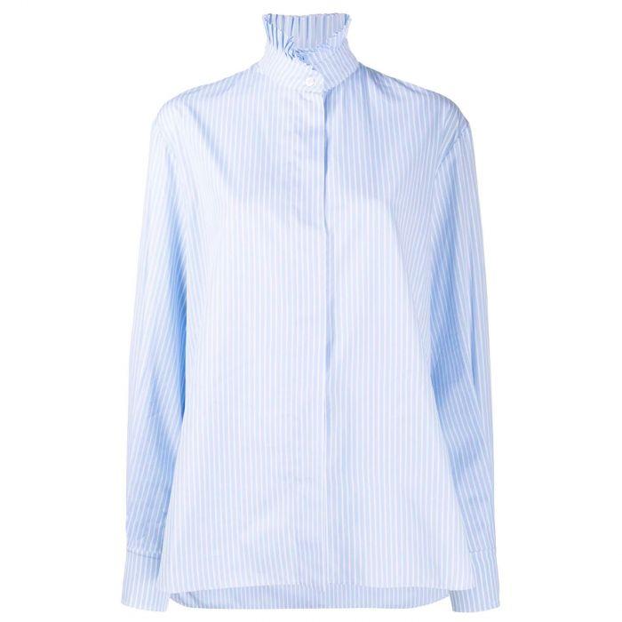 Рубашка длин.рук. Alexandre Vauthier голубая