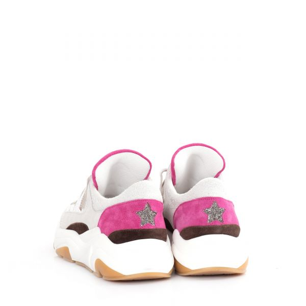 Кроссовки Lorena Antoniazzi бело-серые