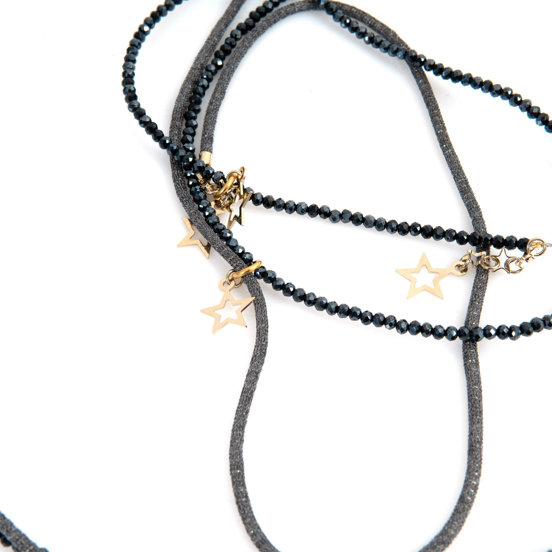Ожерелье Lorena Antoniazzi темно-серое