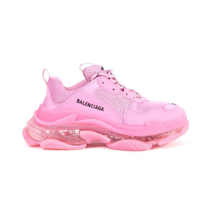 Кроссовки Balenciaga Triple S розовые