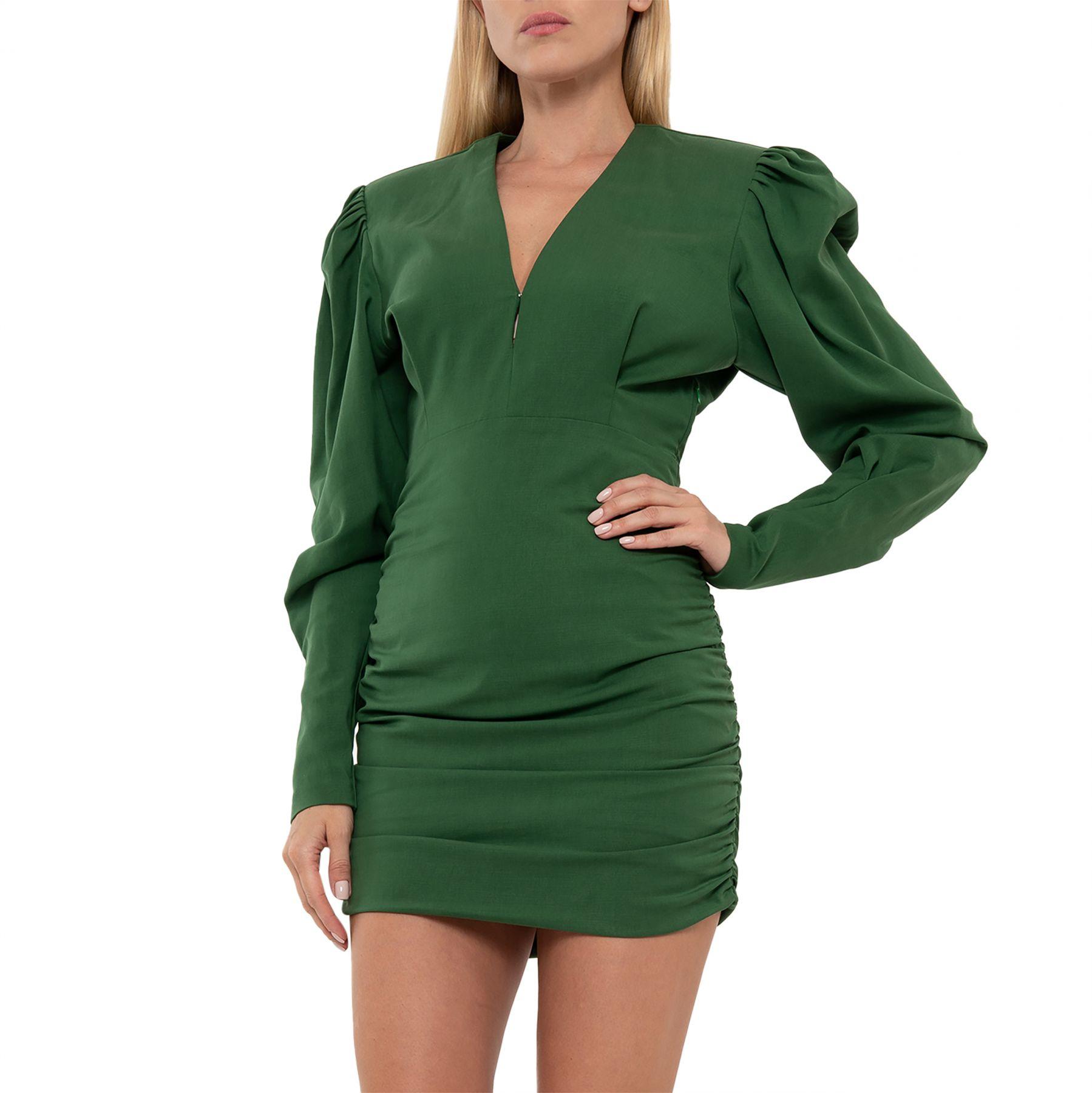 Платье Isabel Marant Stella изумрудное