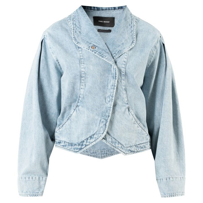 Куртка Isabel Marant голубая