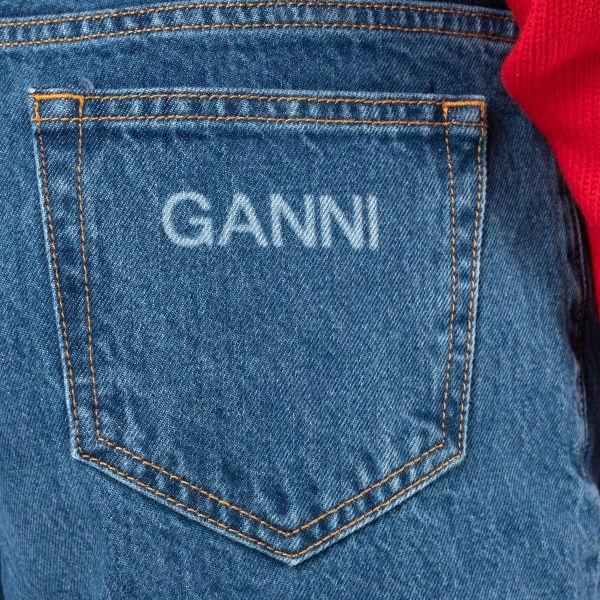 Джинсы Ganni синие