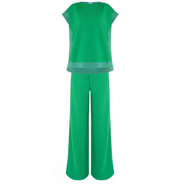 Топ MUS (Maison Myriam Ullens) зеленый