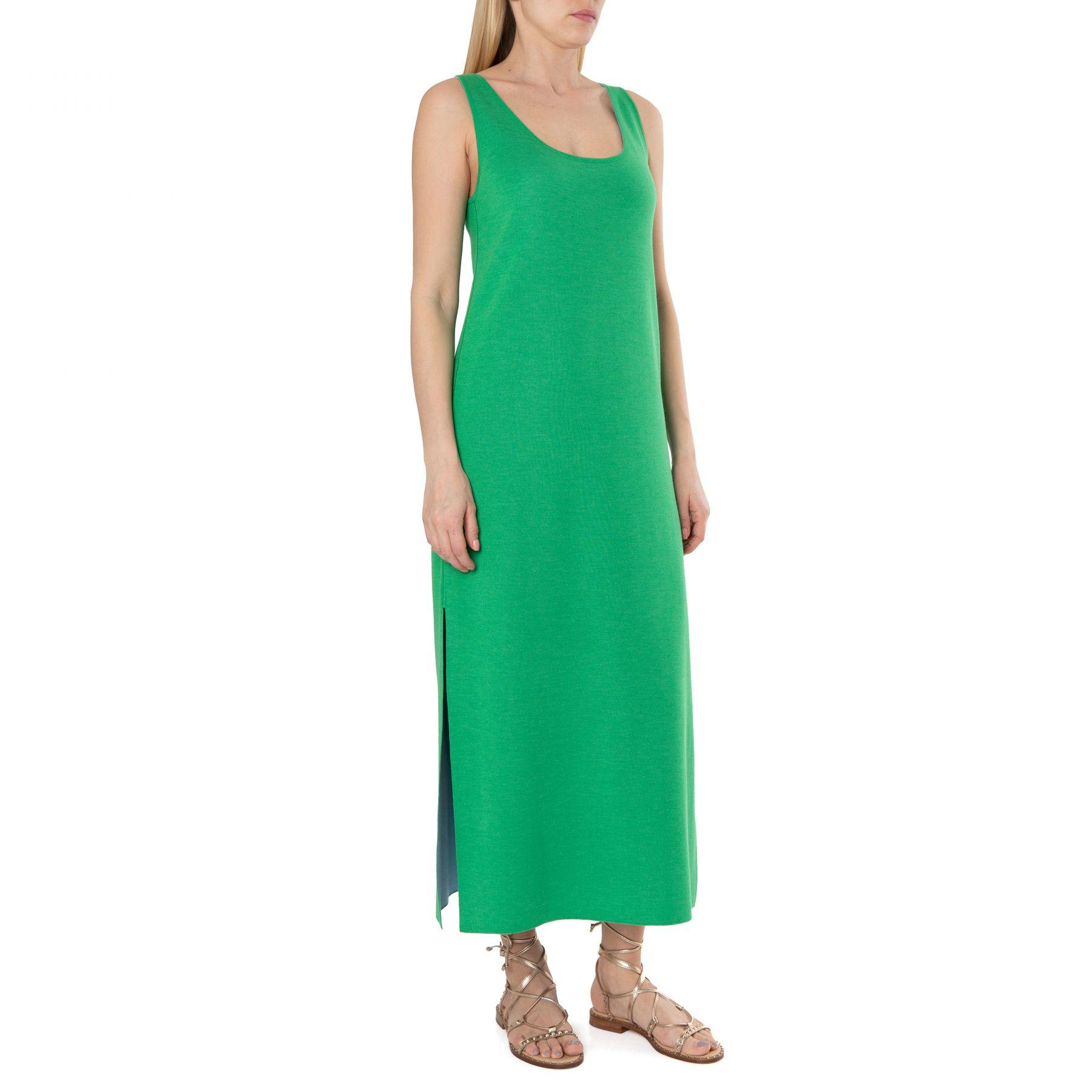 Платье MUS (Maison Myriam Ullens) зеленое