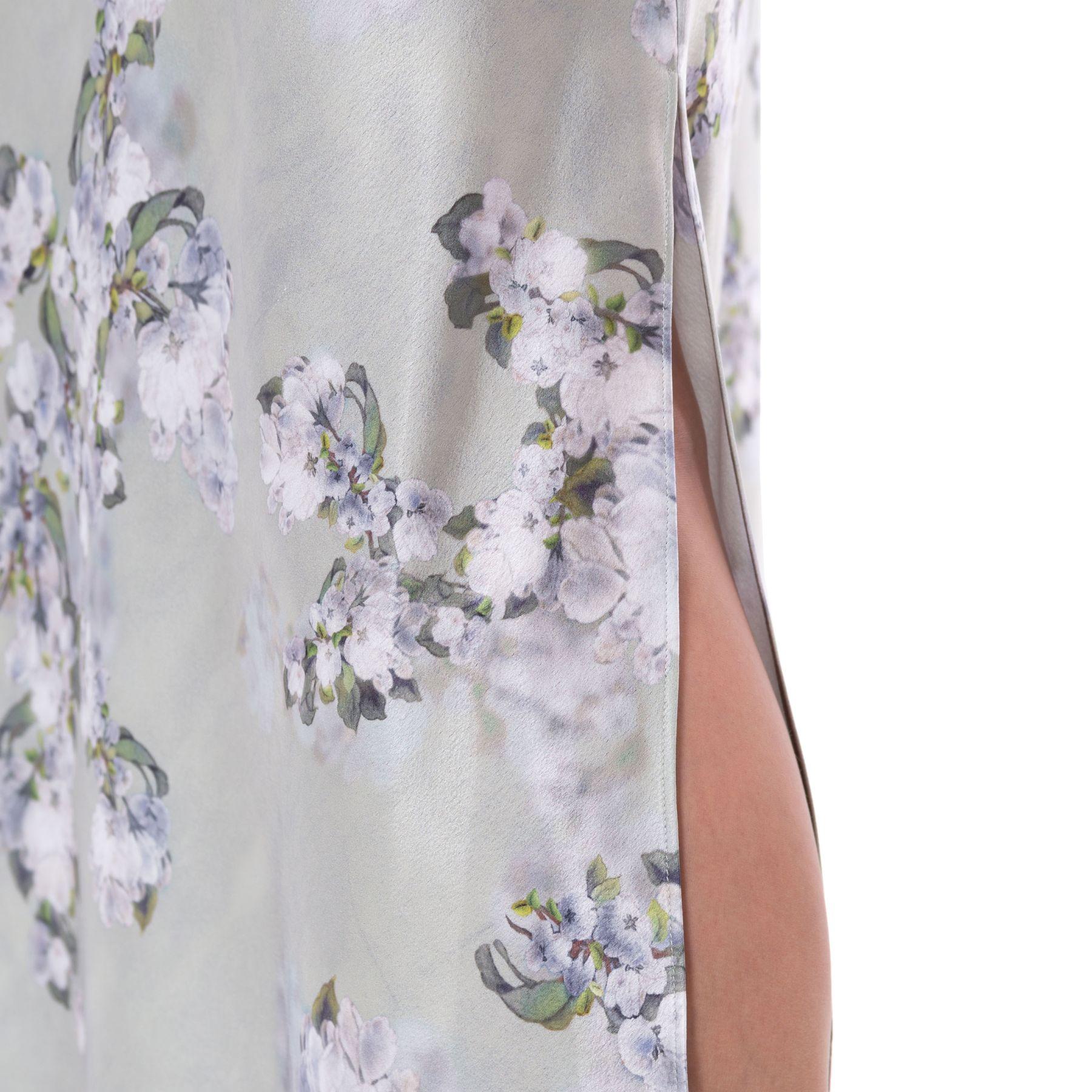 Платье Vince серо-зеленое