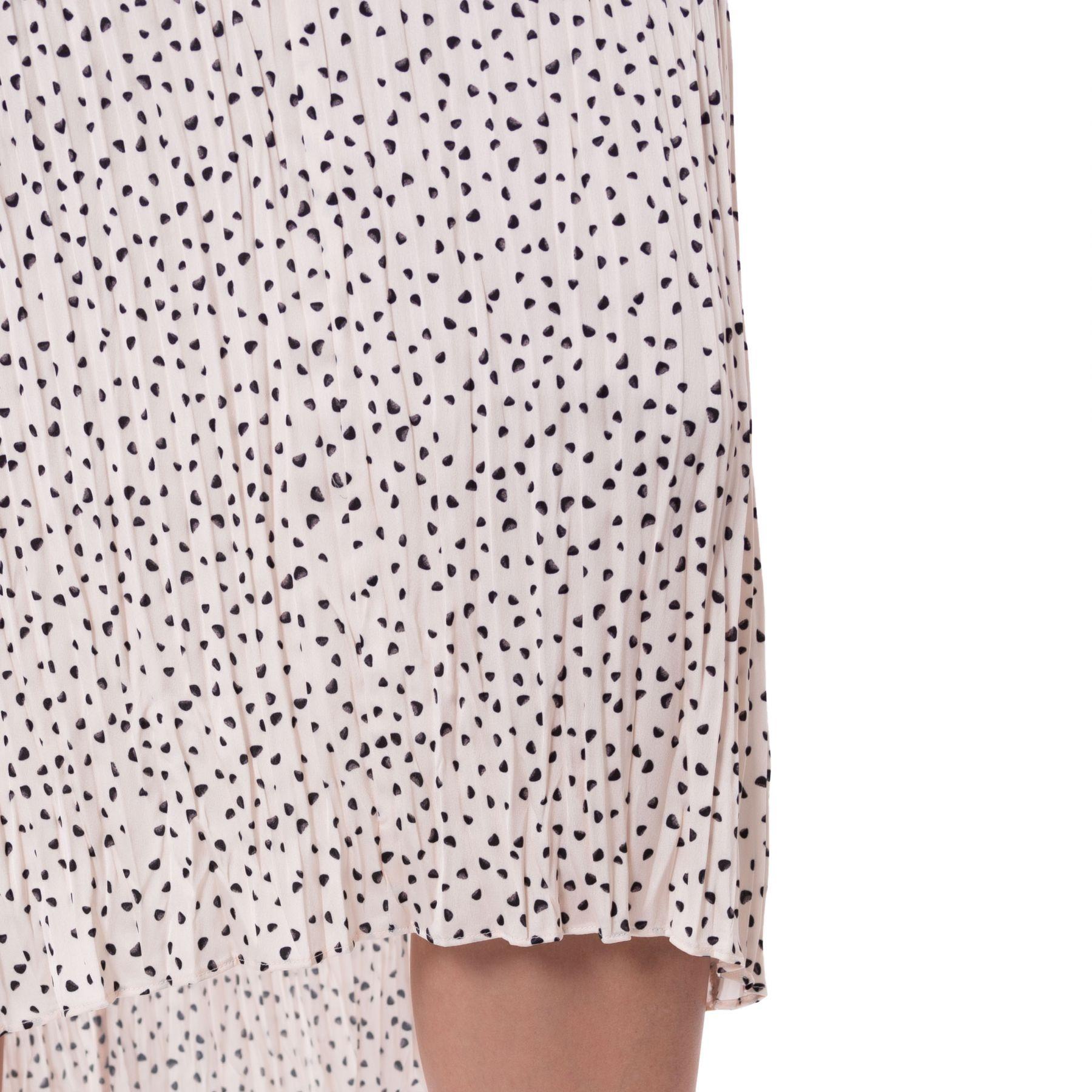 Платье Vince розово-бежевое