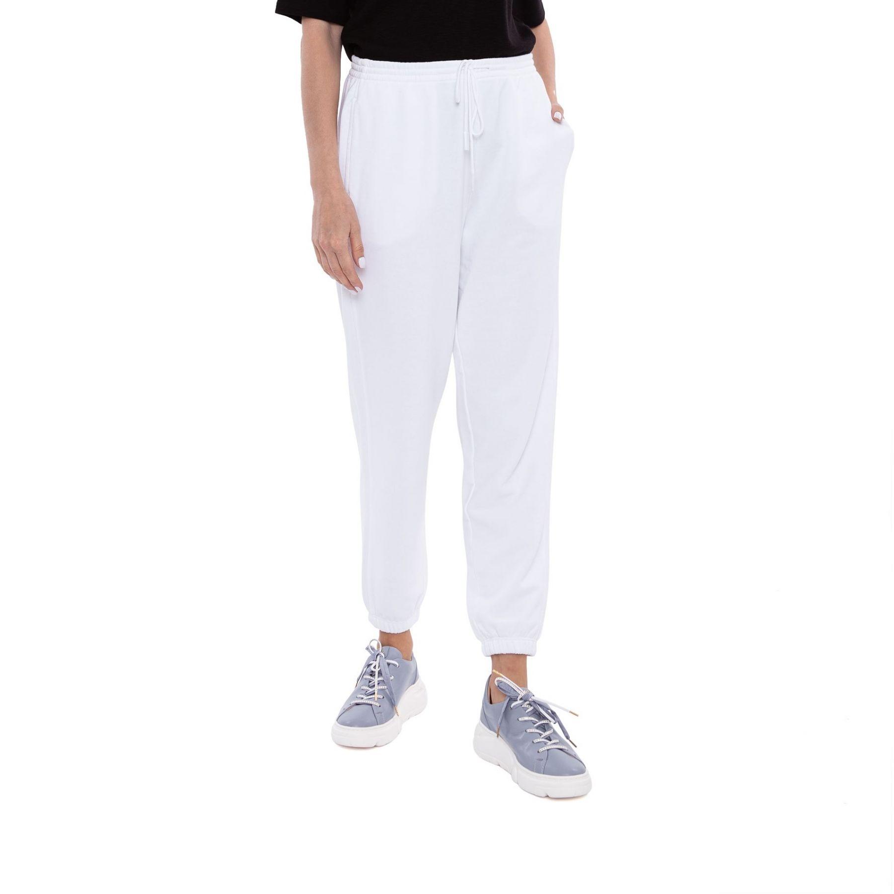 Спортивные брюки Vince белые