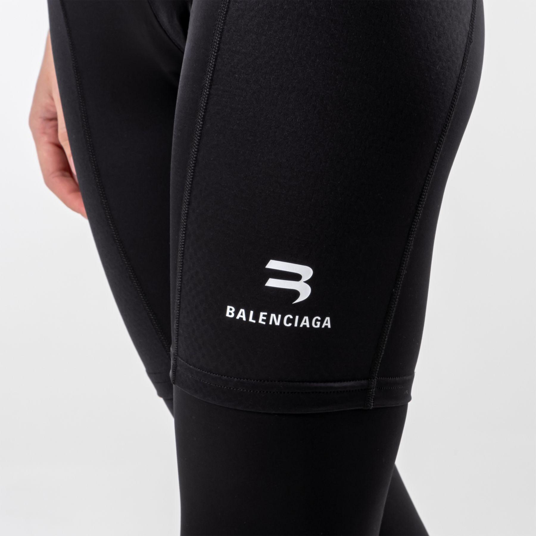 Леггинсы Balenciaga черные