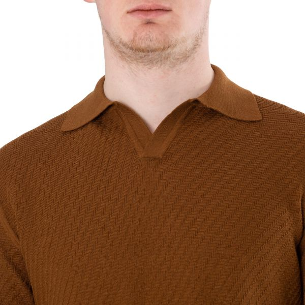 Поло Vallati коричневое