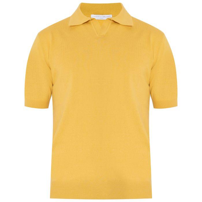 Поло Vallati желтое