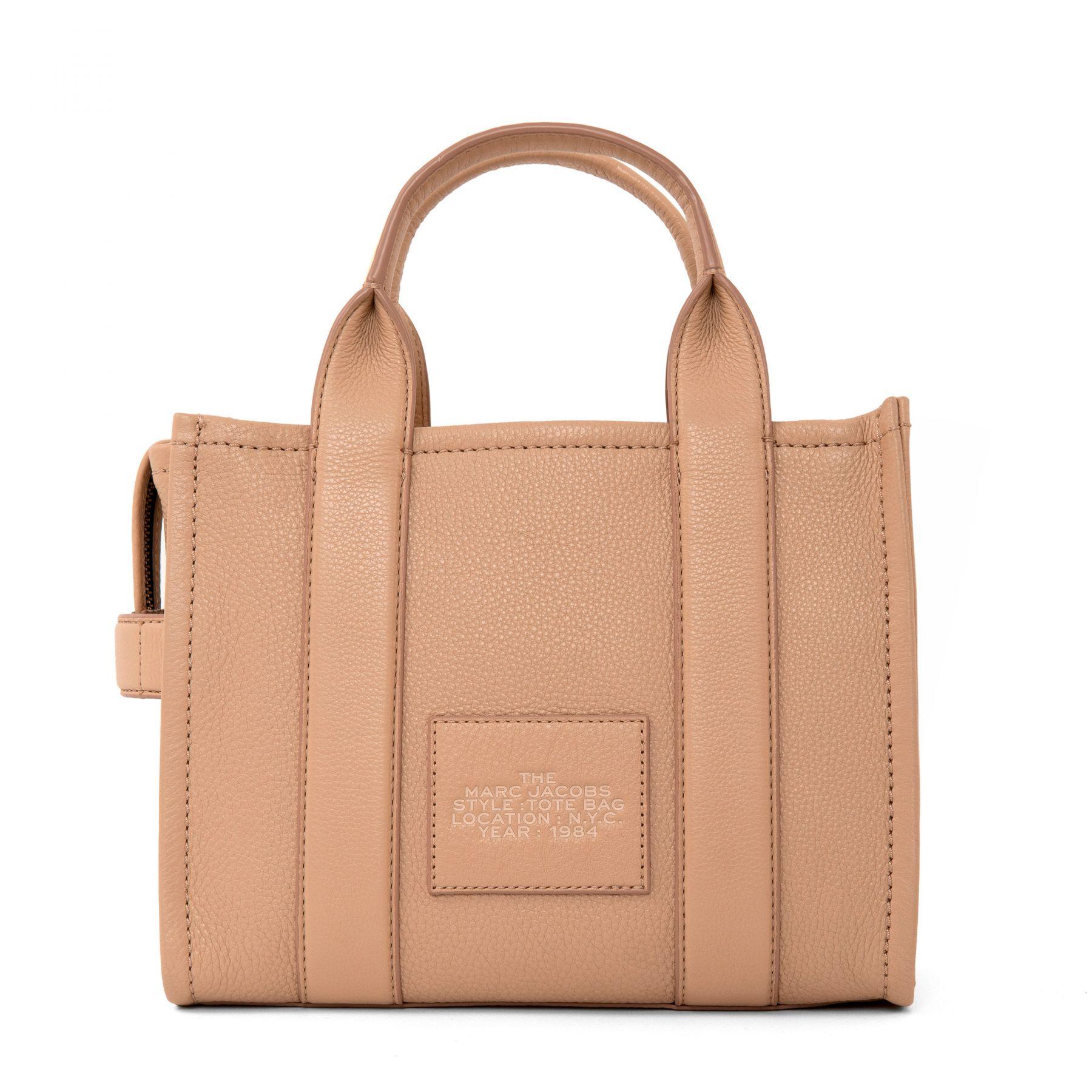 Сумка Marc Jacobs The Mini Tote Bag бежевая