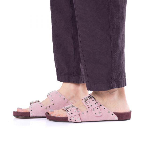 Биркеншток Isabel Marant Lennyo розовые