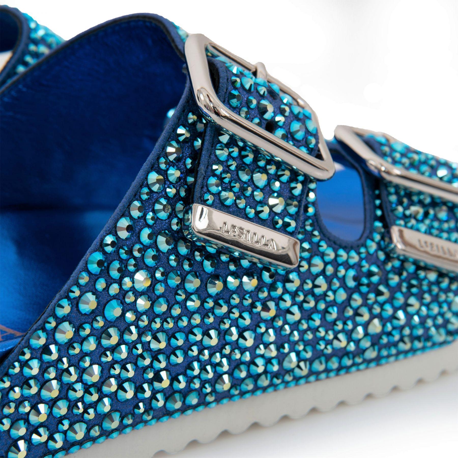 Биркенштоки Le Silla синие