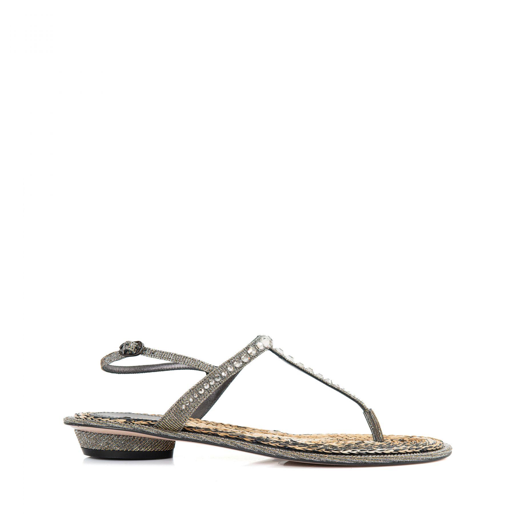 Босоножки Le Silla MABEL серебряные