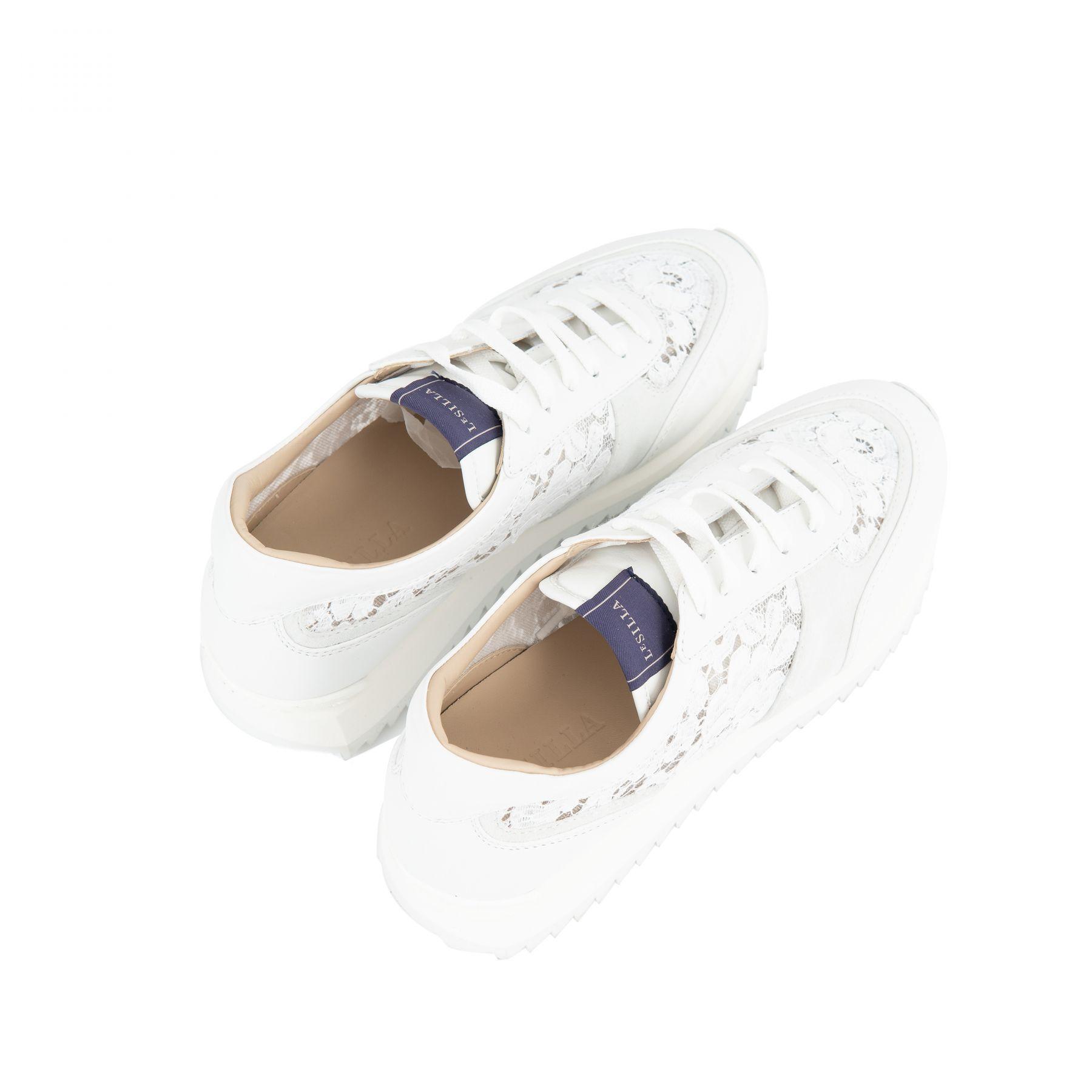 Кроссовки Le Silla CLAIRE белые