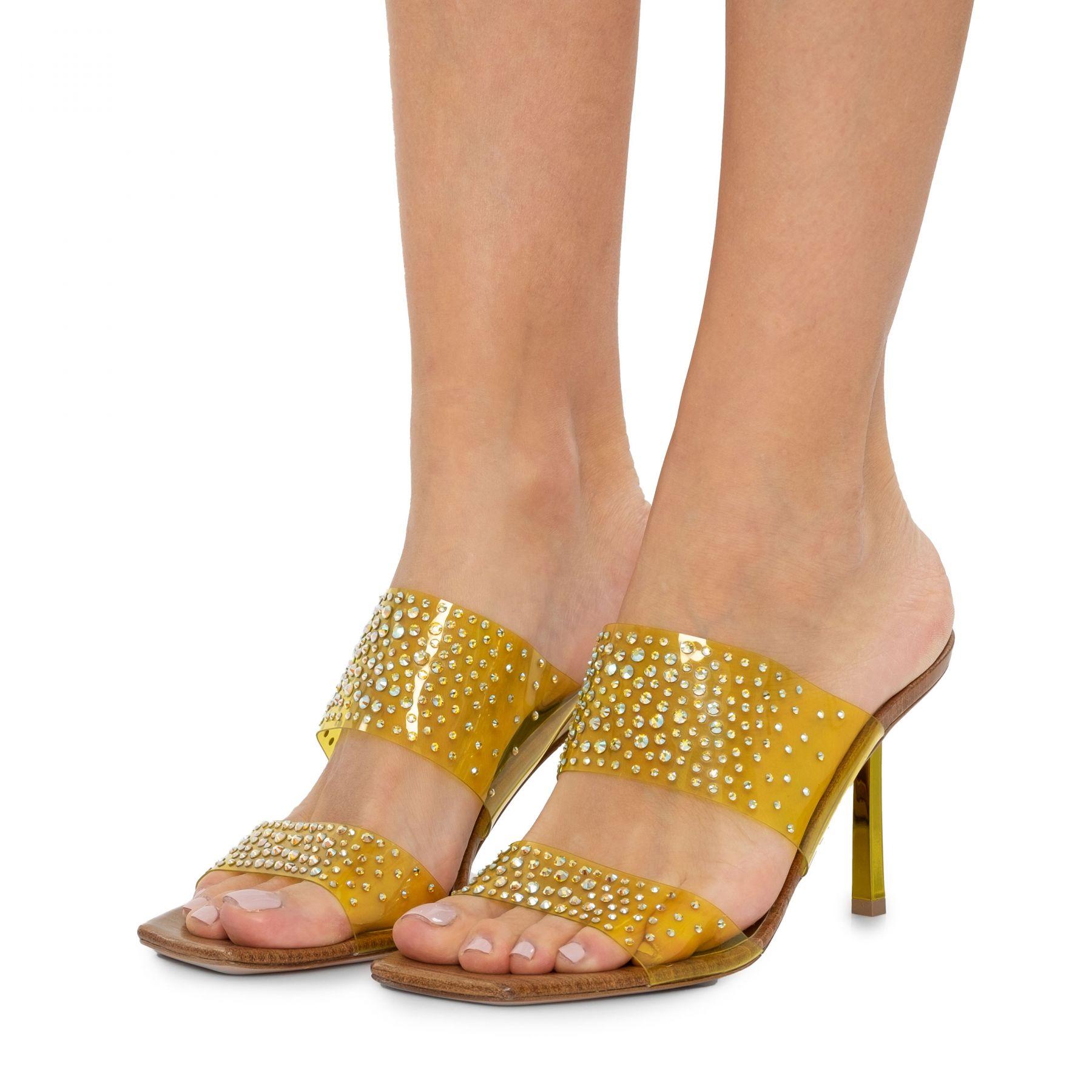 Мюли Le Silla желтые