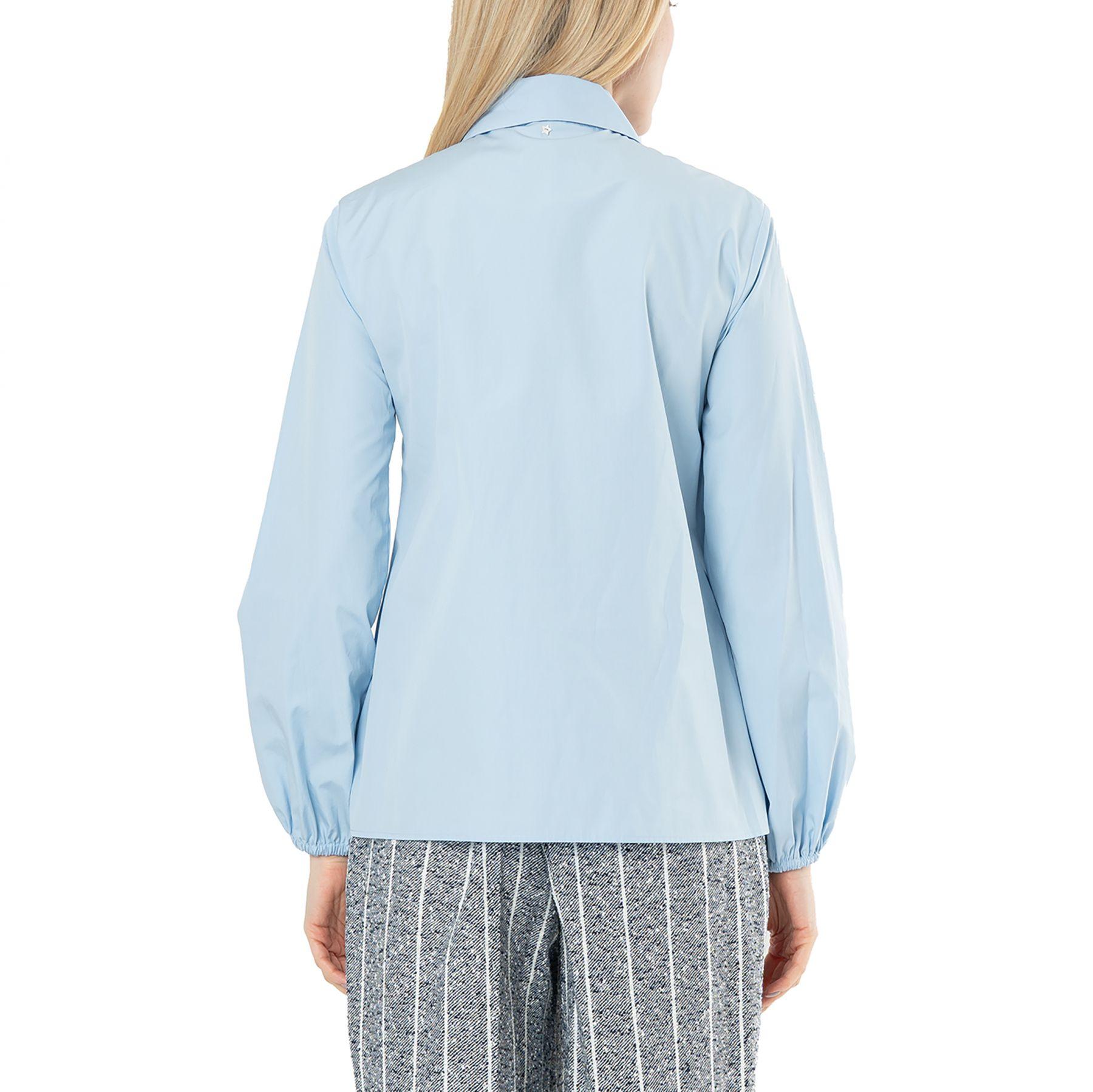 Рубашка с длинными рукавами Lorena Antoniazzi голубая