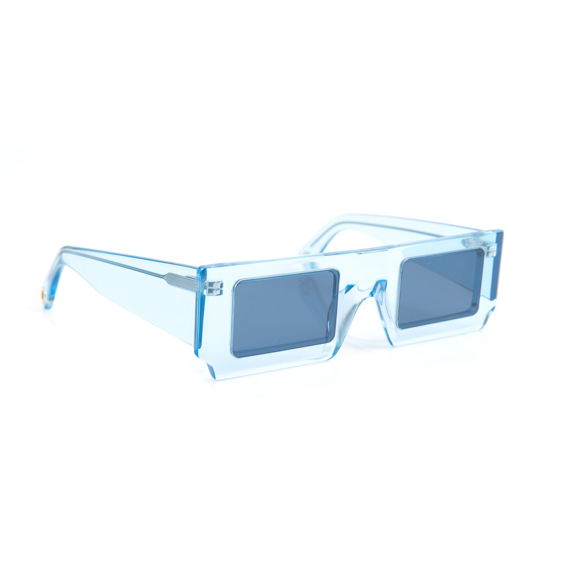 Очки Jacquemus Les lunettes Solei голубые