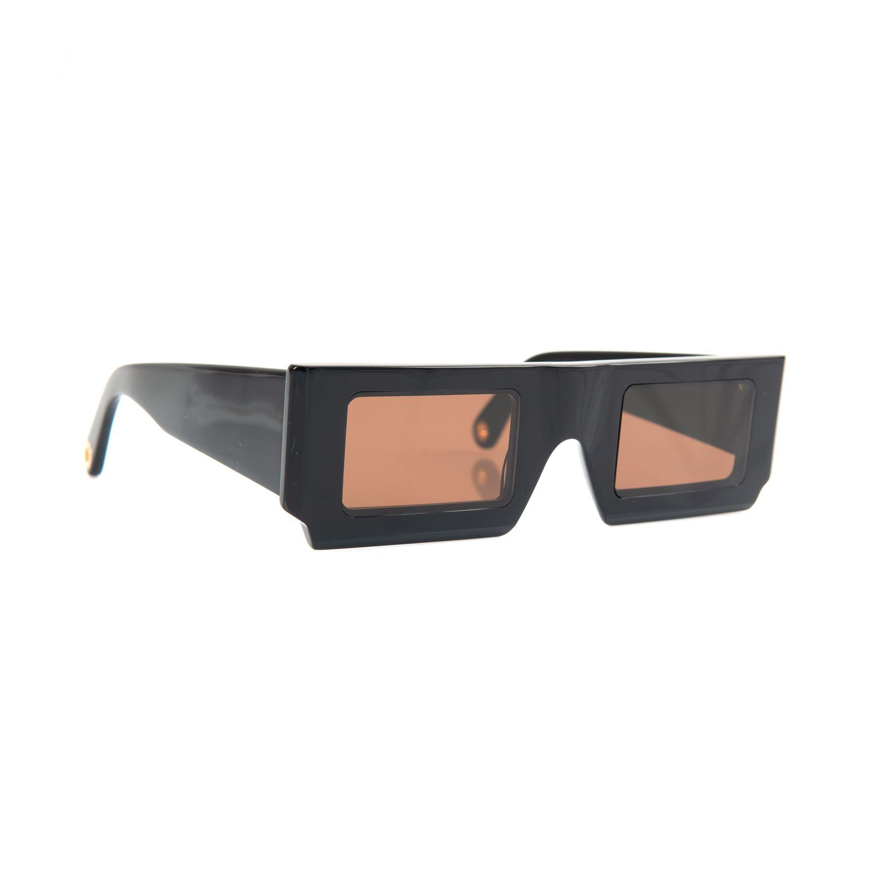 Очки Jacquemus Les lunettes Solei черные
